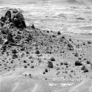 Veteran Opportunity Mars rover snapped this photo following Earth-Mars Solar Conjunction on Sol 4059. Credit: NASA/JPL-Caltech/Cornell Univ./Arizona State Univ.