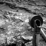 Curiosity: Back on-line after solar conjunction. Credit: NASA/JPL/USGS