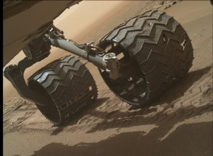 NASA's Mars rover Curiosity acquired this image using its Mars Hand Lens Imager (MAHLI), located on the turret at the end of the rover's robotic arm, on July 16, 2015, Sol 1046. Credit: NASA/JPL-Caltech/MSSS
