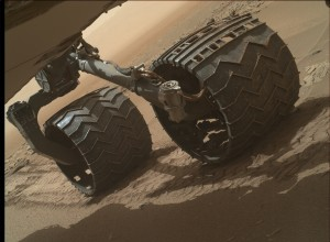 NASA's Mars rover Curiosity acquired this image using its Mars Hand Lens Imager (MAHLI), located on the turret at the end of the rover's robotic arm, on July 16, 2015, Sol 1046 of the Mars Science Laboratory Mission. Credit: NASA/JPL-Caltech/MSSS