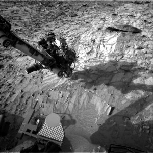 This image was taken by Curiosity's Navcam: Right B on July 28, Sol 1057. Image Credit: NASA/JPL-Caltech