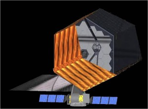 Notional look at the design of a High-Definition Space Telescope (HDST). Credit: AURA