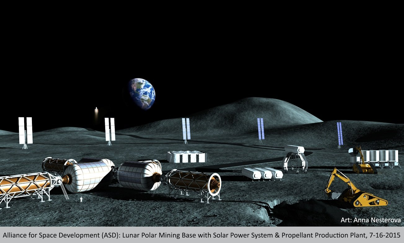 an examination of the future of space exploration and mining in outer space Nasa has funded 22 technology concepts that could spur giant leaps in  a  small probe would hover just above the surface of the mars moon phobos,  studying it up close  find and track many space rocks for possible future  resource extraction,  optical mining of asteroids, moons, and planets to enable .