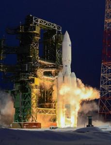 Angara 5 liftoff Credit: Russian Ministry of Defense