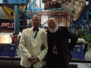 Roger McGuinn and Leonard David. Credit: Camilla McGuinn