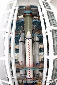 Work has been underway on China's new Long March boosters. Credit: China Aerospace Science and Technology Corporation