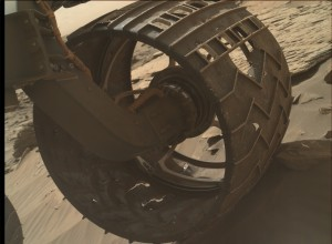 NASA's Mars rover Curiosity acquired this image using its Mars Hand Lens Imager (MAHLI), located on the turret at the end of the rover's robotic arm, on August 28, 2015, Sol 1087 of the Mars Science Laboratory Mission. Credit: NASA/JPL-Caltech/MSSS