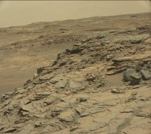 Curiosity Mastcam Left image taken on August 25, 2015, Sol 1085.    Credit: NASA/JPL-Caltech/MSSS
