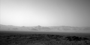 Curiosity's Navcam Left B took this image on August 17, 2015, Sol 1077. Image Credit: NASA/JPL-Caltech