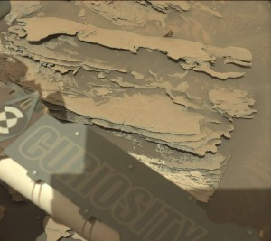 Curiosity Mastcam Left image taken on Sol 1087, August 28, 2015.  Credit: NASA/JPL-Caltech/MSSS