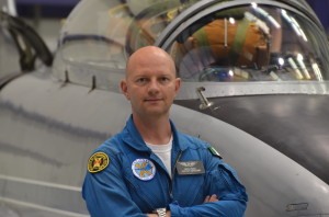Virgin Galactic's new space pilot, Nicola Pecile.  Credit: Virgin Galactic