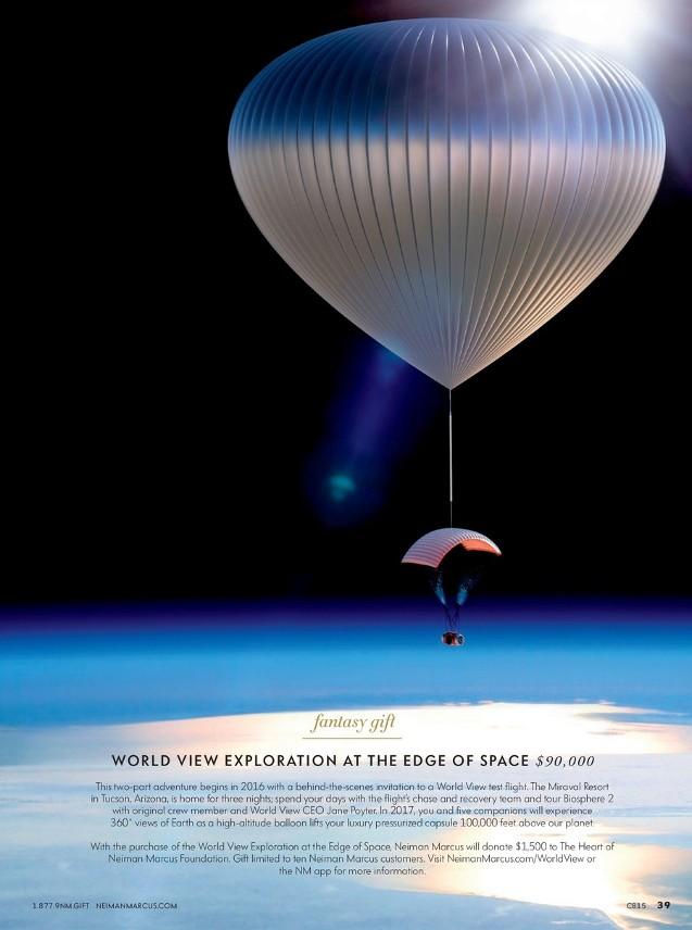 High-end Catalog Offers High-altitude Flight