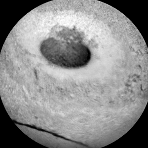 Image taken by ChemCam: Remote Micro-Imager on Sol 1139, October 20, 2015. Credit: NASA/JPL-Caltech/LANL