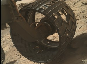 NASA's Mars rover Curiosity acquired this image using its Mars Hand Lens Imager (MAHLI), located on the turret at the end of the rover's robotic arm on October 8, 2015, Sol 1127. Credit: NASA/JPL-Caltech/MSSS