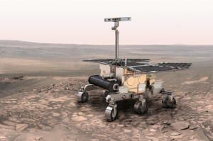 ESA's ExoMars Rover Credit: ESA