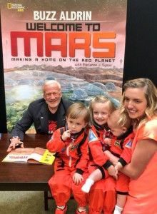 Onward to Mars! Generational space explorers! Credit: Christina Korp