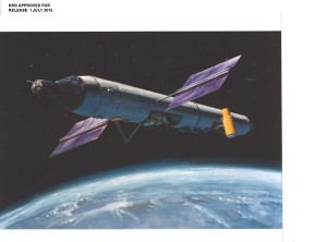 Newly released documents reveal a wide variety of duties for the classified Air Force project, the Manned Orbiting Laboratory (MOL). Credit: NRO