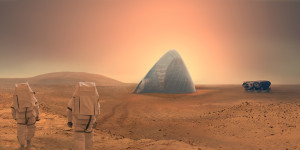 Mars Ice House by Team Space Exploration Architecture and Clouds Architecture Office.