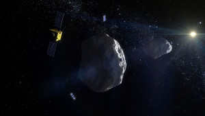 Asteroid Impact Mission, or AIM, networking with CubeSats Credit: ESA - ScienceOffice.org