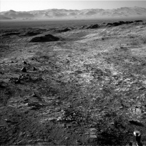 Curiosity Navcam Left B Sol 1158 November 9, 2015. Credit: NASA/JPL-Caltech