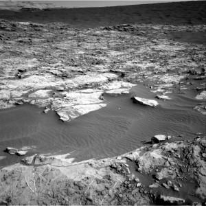 Dunes as captured by Curiosity Mars rover's Navcam Right B on November 24, 2015, Sol 1173. Credit: NASA/JPL-Caltech