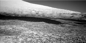 Dunes in sight! Curiosity Navcam Left B image taken on November 20, 2015, Sol 1169. Credit: NASA/JPL-Caltech