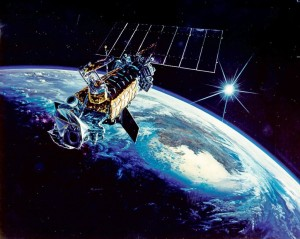 DMSP satellite also suffered a debris-creating event earlier this year. Credit: US Air Force