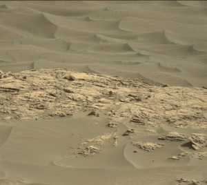 This image was taken by Curiosity's Mastcam Right on November 24, 2015, Sol 1173. Credit: NASA/JPL-Caltech/MSSS