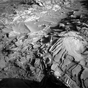 This image was taken by Navcam: Left B onboard NASA's Mars rover Curiosity on Sol 1151, November 1, 2015 Credit: NASA/JPL-Caltech