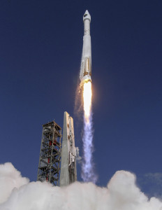 Atlas V liftoff. Credit: ULA