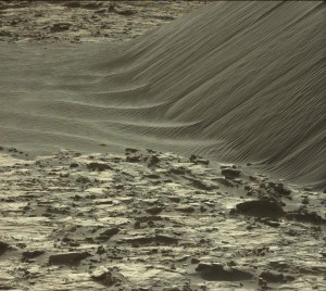 Curiosity's Mastcam Left image taken on Sol 1204, December 26, 2015. Credit: NASA/JPL-Caltech/MSSS