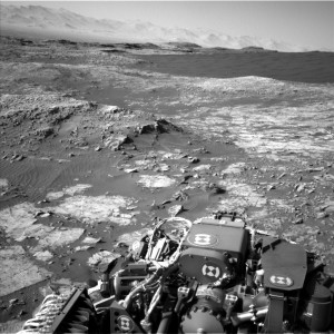 Curiosity Navcam Left B camera image taken on Sol 1185, December 6, 2015. Credit: NASA/JPL-Caltech
