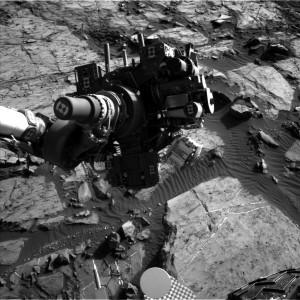 Curiosity image taken on Sol 1202 using its Navcam Left B camera on December 24, 2015. Credit: NASA/JPL-Caltech