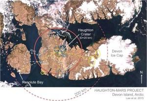 Devon Island offers training ground for future Mars expeditionary crews. Credit: NASA/HMP