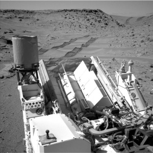 Radioisotope power system enables exploration by NASA's Curiosity Mars rover. Credit: NASA/JPL-Caltech/MSSS