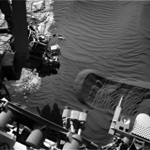 Curiosity rover image taken on Sol 1224 using Navcam Left B on January 15, 2016. Credit: NASA/JPL-Caltech