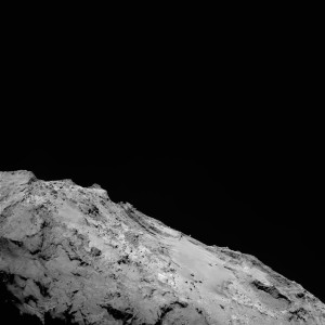 Landscape of the Imhotep region on Comet 67P/Churyumov–Gerasimenko. Credit: ESA/Rosetta/MPS for OSIRIS Team MPS/UPD/LAM/IAA/SSO/INTA/UPM/DASP/IDA