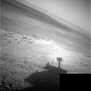 Opportunity image from Navigation Camera on Sol 4266. Credit: NASA/JPL