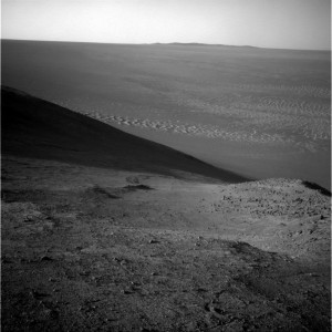 A dozen years on Mars. Opportunity Mars rover snagged this image using its Navigation Camera on Sol 4266. Credit: NASA/JPL