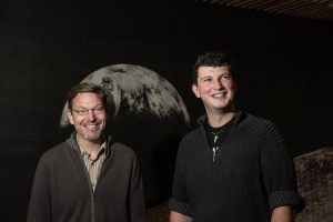 Planet 9 backers, Caltech professor Mike Brown and assistant professor Konstanin Batygin, have been working together to investigate distant objects in our solar system Credit: Lance Hayashida/Caltech
