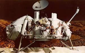 History-making Viking Mars landers touched down on the Red Planet in 1976 - four decades ago this year. Credit: NASA