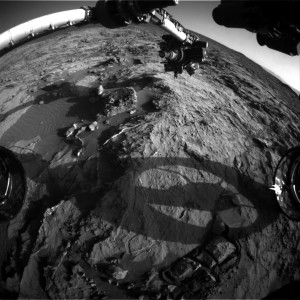 Curiosity Front Hazcam Right B image taken on Sol 1259, February 20, 2016. Credit: NASA/JPL-Caltech