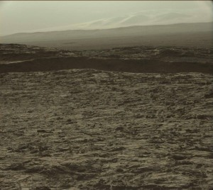 Curiosity's Mastcam Left camera image taken on Sol 1260, February 21, 2016. Credit: NASA/JPL-Caltech/MSSS