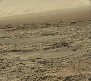 Curiosity Sol 1248 image taken by the robot