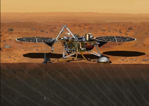 InSight Mars lander. Credit: NASA/JPL