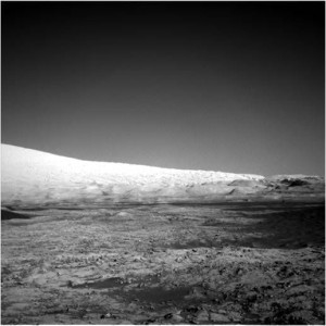 Curiosity Navcam Left B image taken on Sol 1258 on February 19, 2016. Credit: NASA/JPL-Caltech