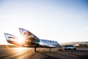 Virgin Spaceship Unity is unveiled in Mojave, California, Friday February 19th, 2016. Credit:  Jack Brockway/Virgin Galactic