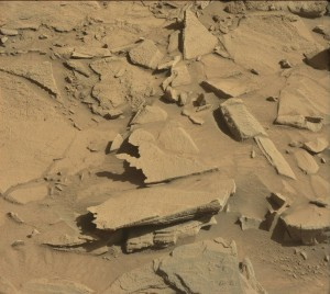 Curiosity's Mastcam Left instrument took this image on Sol 1294, March 27, 2016.