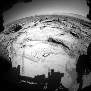 Curiosity Front Hazcam Left B image taken on Sol 1292, March 25, 2016. Image Credit: NASA/JPL-Caltech