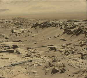 Curiosity Mastcam Left image taken on Sol 1285, March 18, 2016. Credit: NASA/JPL-Caltech/MSSS